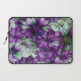 Violets and Greens Laptop Sleeve