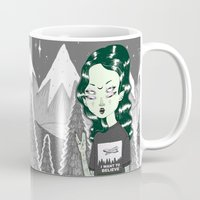 loll3 Mugs featuring ☽ ZELINA ☾ by lOll3