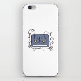 Business Cassette iPhone Skin