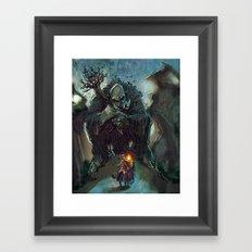 Mountain Troll  Framed Art Print