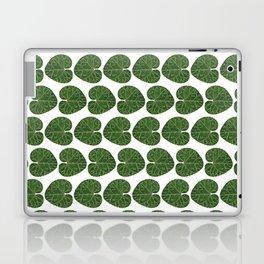 Cyclamen leaf pattern Laptop & iPad Skin