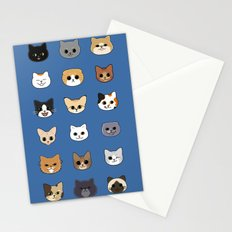 Happy Cats Stationery Cards