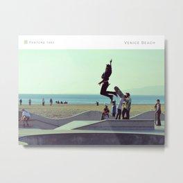 Pantone: Venice Beach Metal Print