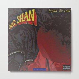 M.C. Shan / Down By Law album cover Metal Print