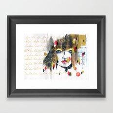 The La the Blah Framed Art Print