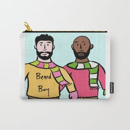 Beard Boy: James & Mike Carry-All Pouch