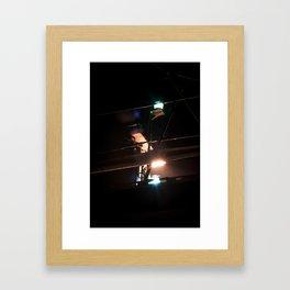 nightlight Framed Art Print