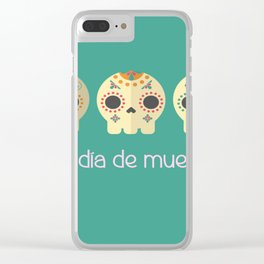 day of the death Clear iPhone Case