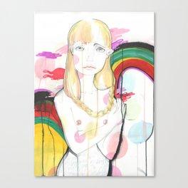 La fille de Siren Canvas Print