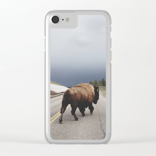 Street Walker Clear iPhone Case