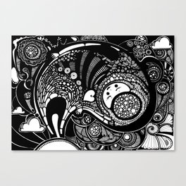 Creatures Canvas Print