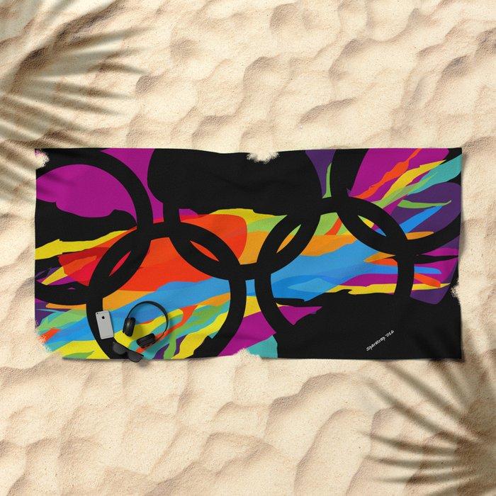 Olym Pics Beach Towel
