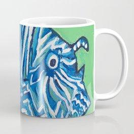 Lion Fish 2, a pretty predator & invasive species Coffee Mug
