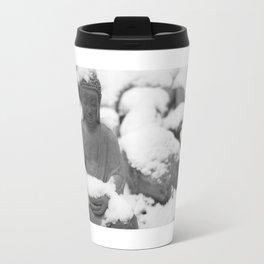 Buddha in Himalaya Travel Mug