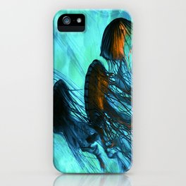 Jellyfish of the Under Sea Volcano iPhone Case