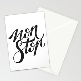 NON STOP Stationery Cards