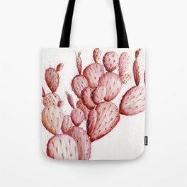 Pink Cacti Tote Bag