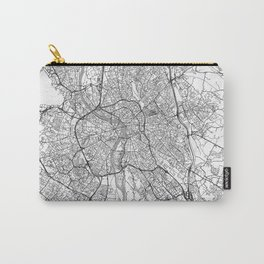 Toulouse Map Line Carry-All Pouch