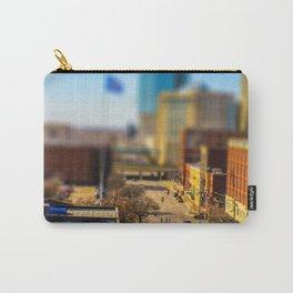 Bricktown Street by Monique Ortman Carry-All Pouch