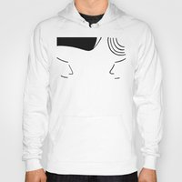 telephone Hoodies featuring Telephone by Jeremy Chow