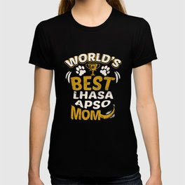 World's Best Lhasa Apso Mom T-shirt