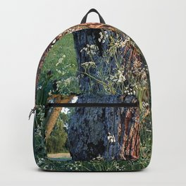 The Tree At Sunset Backpack