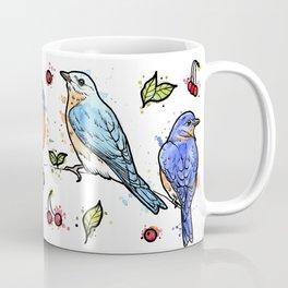 Eastern Blue Birds Coffee Mug