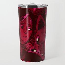 Ken and Wormmon Travel Mug