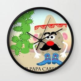Senor Papa Cabeza AKA Mr. Potato Head Wall Clock