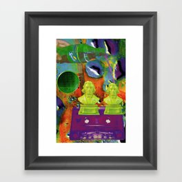 Chopin's Screwed Framed Art Print