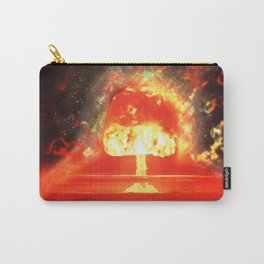 Famous humourous quotes series: Atomic mushroom explosion  Carry-All Pouch