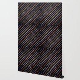 Blazing Neon Worm Line Dance I Wallpaper