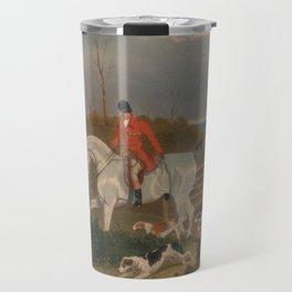 The Suffolk Hunt - John Frederick Herring Travel Mug