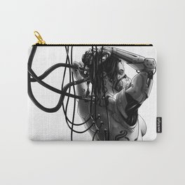 Cyborg girl Carry-All Pouch