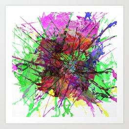 Colour Expression / Color Expression Art Print