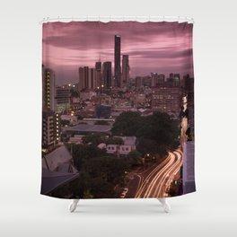 Brisbane Nights Shower Curtain