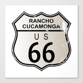 Rancho Cucamonga Route 66 Canvas Print