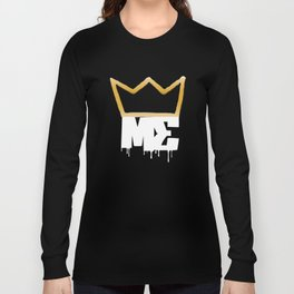 Modesty's End - Wht Crwn Long Sleeve T-shirt