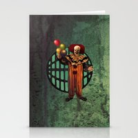 pennywise Stationery Cards featuring Pennywise by Monsterinbox