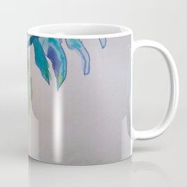 Flower inspiration modern paintings by Christian T. Coffee Mug