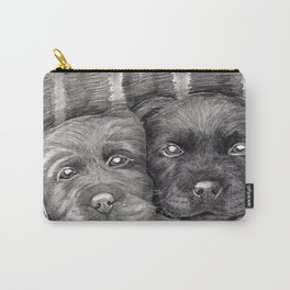 Flat Coat Retrievers Carry-All Pouch