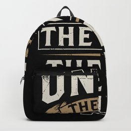 Uncle The Man The Myth The Bad Influence Backpack