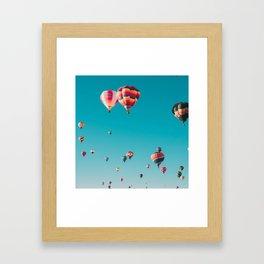 Hot Air Ballon Festival Framed Art Print