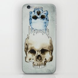 Skull Brained iPhone Skin