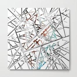 Web Prism Metal Print