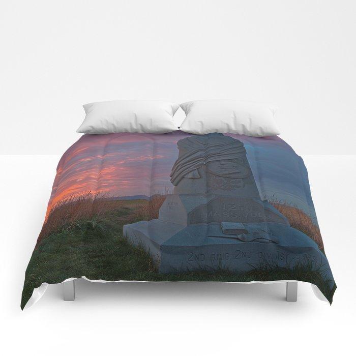Gettysburg Sunset Comforters