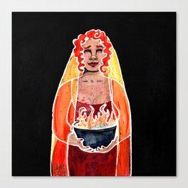 Vesta     Hestia Canvas Print