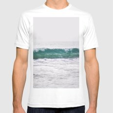 Icy Waters Mens Fitted Tee White MEDIUM