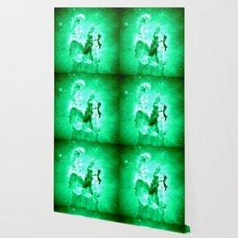 NEbula. : Green Pillars of Creation Wallpaper