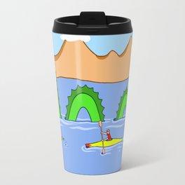 Captain Kayak and Loch Ness Monster Travel Mug